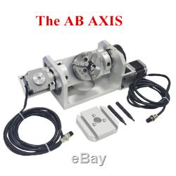 USB 5 Axis 6040 CNC Router Engraver Cutting DIY Metal Milling Wood Machine 1.5KW