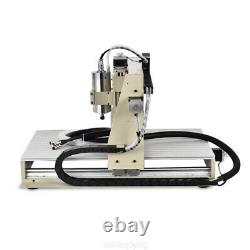 USB 6040 4Axis CNC Router Engraver VFD Metal Drilling Milling Machine+Controller