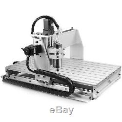 USB 6040Z 3 Axis Engraving Drilling Milling Machine Engraver CNC Router Cutter