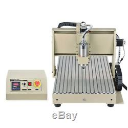 USB CNC 3/4 Axis 3040 6040 6090 Router Engraving Milling Machine 3D Cutter USA