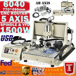 USB Port 5axis CNC 6040Z Router Engraving Machine Metal Milling Cutting Machine