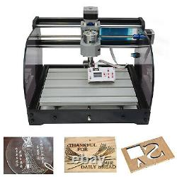 USED 3 Axis CNC 3018 PRO Router Engraving PCB Wood DIY Milling GRBL Control