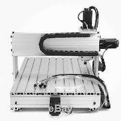 Usb 1.5kw Cnc Router 6040z 4 Axis Engraver Engraving Machine Woodwork Milling