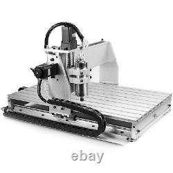 Usb Cnc Router 6040z 4 Axis Engraver Engraving Machine Woodwork Drilling Milling