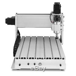 Usb Cnc Router Engraver Engraving Cutting 4 Axis 3040 Machine Milling Artwork