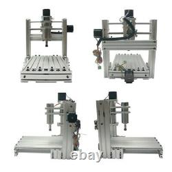 Wood Engraving Machine Router 3020 3 4 5 Axis Milling Lathe Metal 400w USB