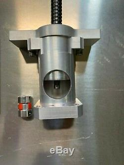 X2 CNC Conversion Kit. Benchtop mill conversion kit with Y axis metal way cover